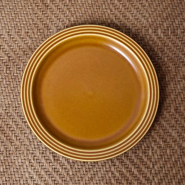ホーンジー Hornsea Pottery SAFFRON プレート 17cm