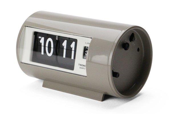 "Twemco Alarm Clock #AP-28 ""Gray"""