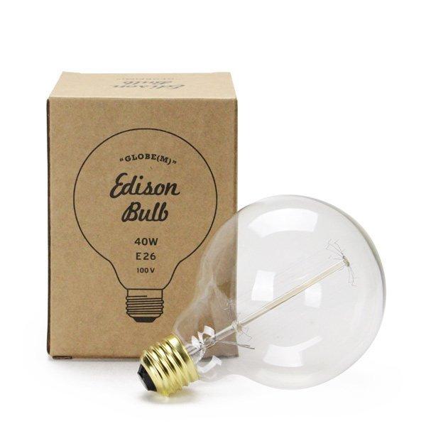 "Edison Bulb ""Globe"" M 40W E26"