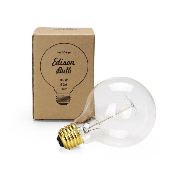"""Edison Bulb """"Globe"""" S 40W E26"""