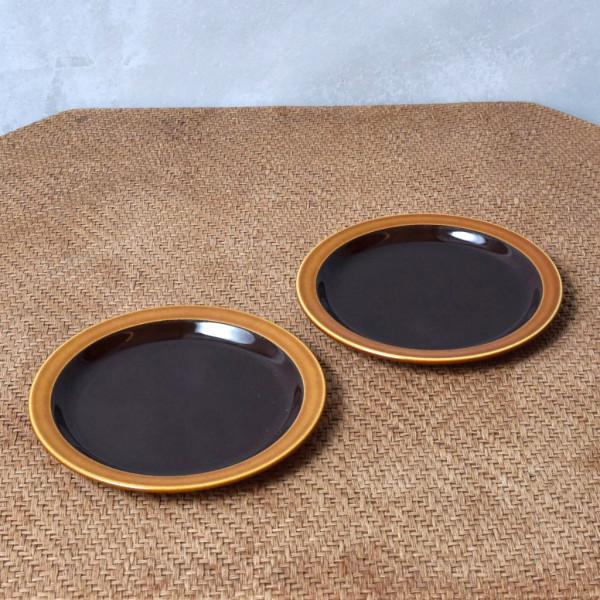ホーンジー Hornsea Pottery BRONTE プレート 17cm 2枚セット