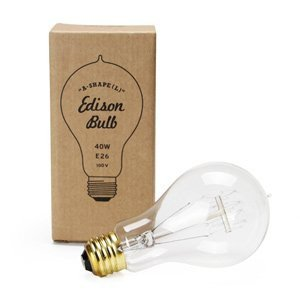 "Edison Bulb ""A-Shape"" L 40W E26"