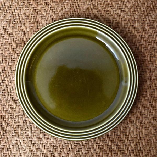 ホーンジー Hornsea Pottery HEIRLOOM / Lakeland green プレート 17.5cm