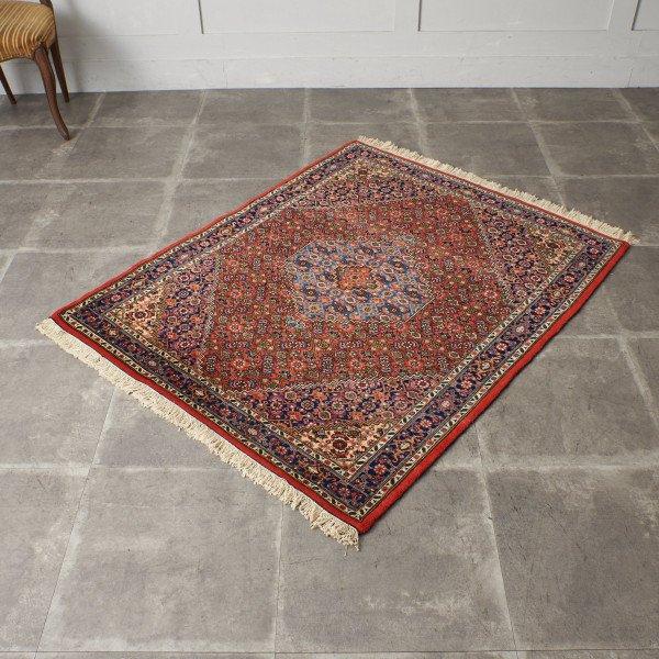 ウール製 手織り ペルシャ絨毯