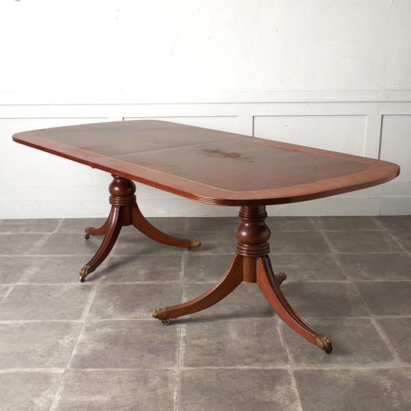 英国アンティーク リージェンシー様式 ダイニングテーブル