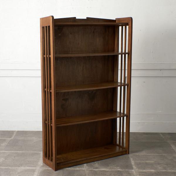 ジャパンヴィンテージ 古い木製 本棚