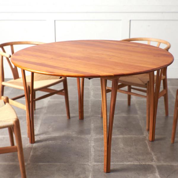 デンマーク製 ヴィンテージ ラウンドテーブル