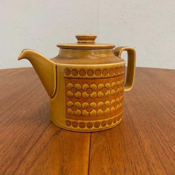 ホーンジー Hornsea Pottery SAFFRON ティーポット