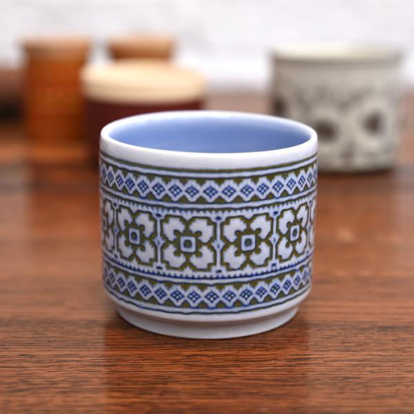 ホーンジー Hornsea Pottery TAPESTRY ヴィンテージ シュガーポット