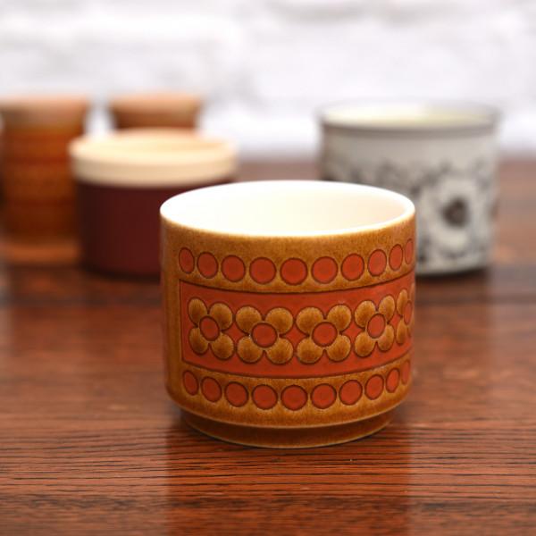 ホーンジー Hornsea Pottery SAFFRON ヴィンテージ シュガーポット
