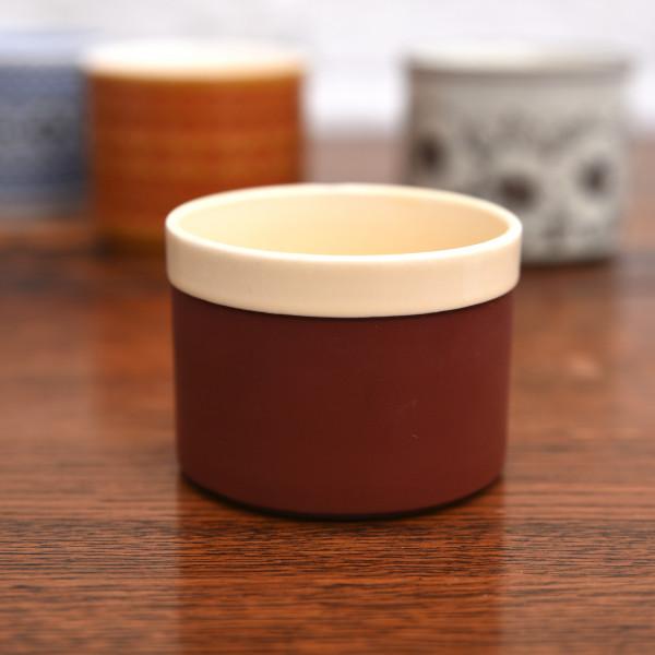 ホーンジー Hornsea Pottery CINNAMON ヴィンテージ シュガーポット