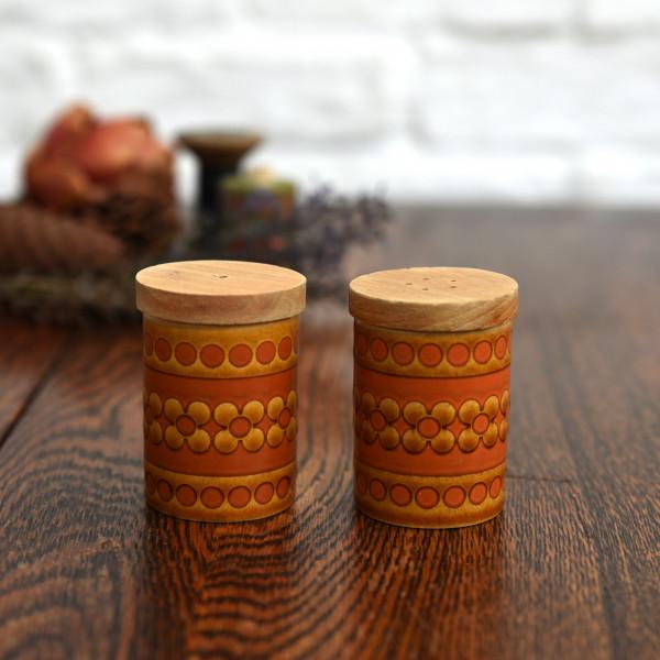 ホーンジー Hornsea Pottery SAFFRON ヴィンテージ ソルト&ペッパー