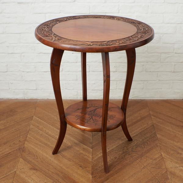 梅彫刻 サイドテーブル