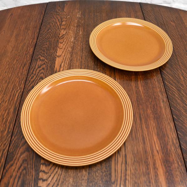 ホーンジー Hornsea Pottery SAFFRON プレート 26.5cm 2枚セット