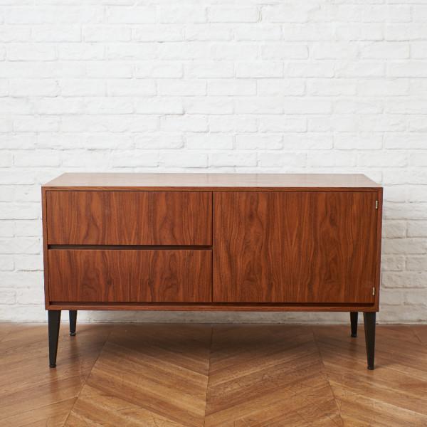 Afrormosia Cabinet W120cm