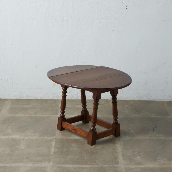 英国製 ドロップリーフサイドテーブル