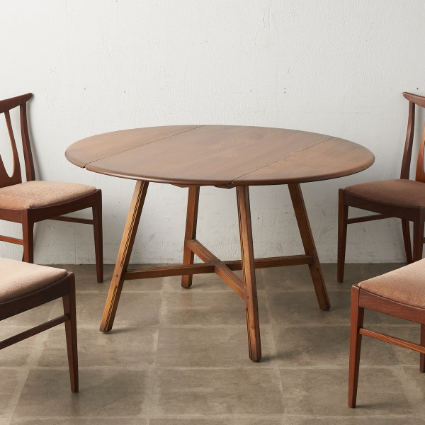 オールドコロニアル ドロップリーフテーブル (377)