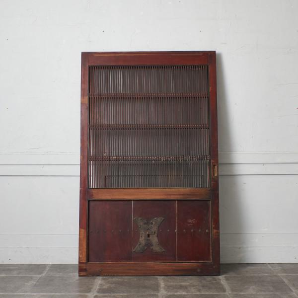 時代物 欅材 蔵戸