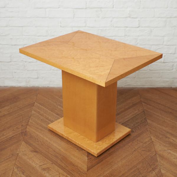 スプレンダー バーズアイメープル材 サイドテーブル