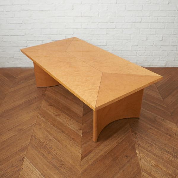 スプレンダー バーズアイメープル材 センターテーブル