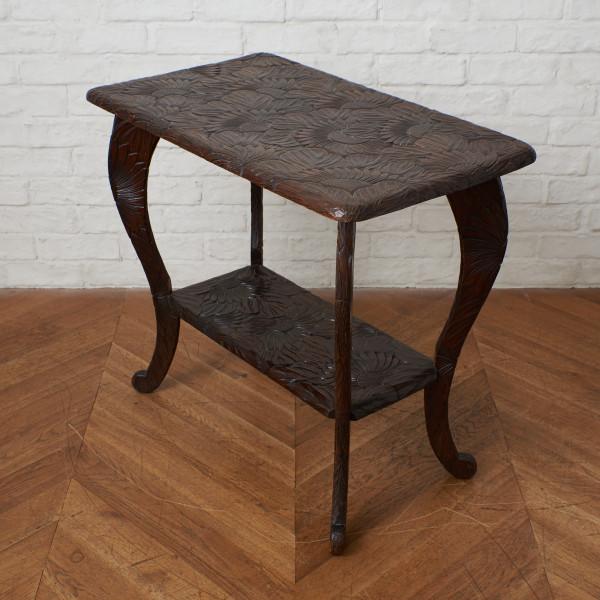 日光彫 日光彫 サイドテーブル