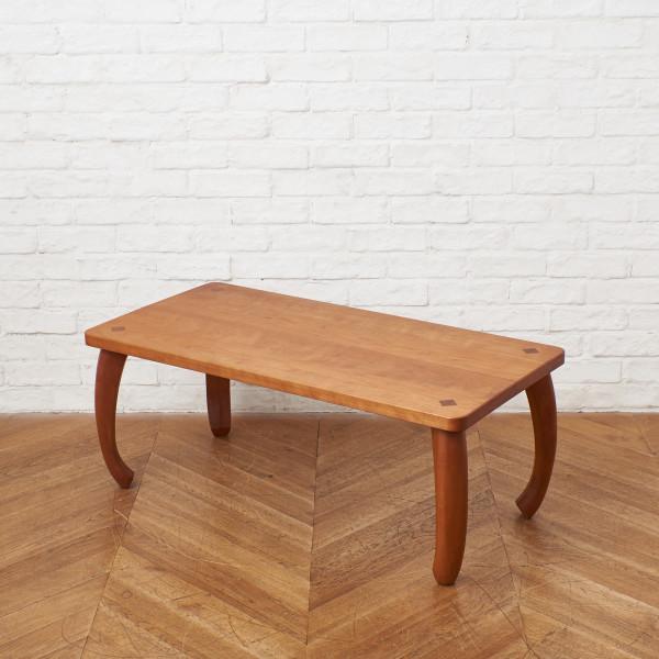 チェリー無垢材 センターテーブル