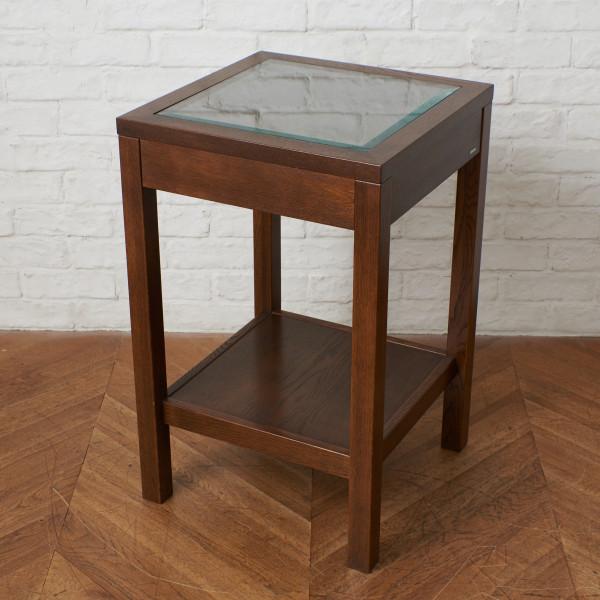 Morganton ガラストップサイドテーブル