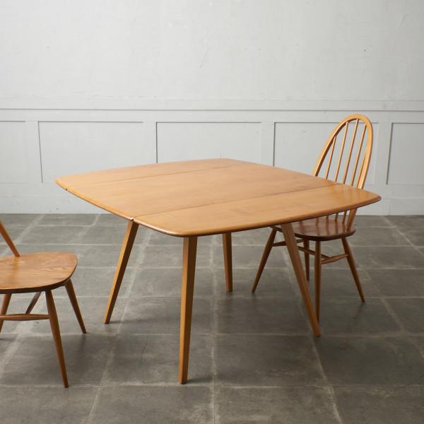 レクタングル ドロップリーフダイニングテーブル 492