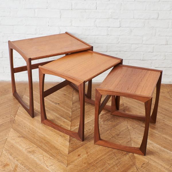 ジープラン G-PLAN Quadrille ヴィンテージ ネストテーブル